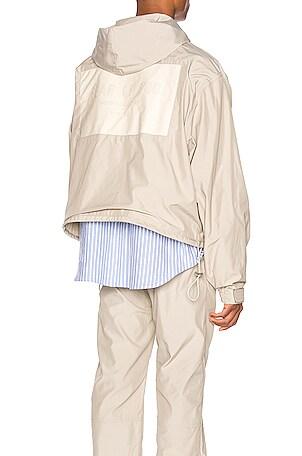 Nylon Full Zip Hoodie