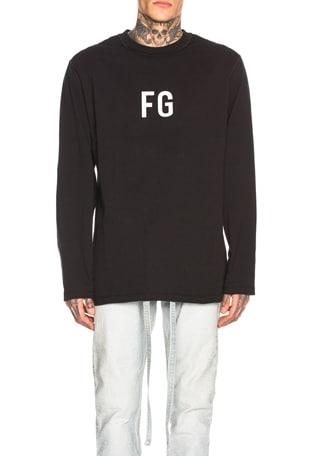 Long Sleeve 'FG' Tee