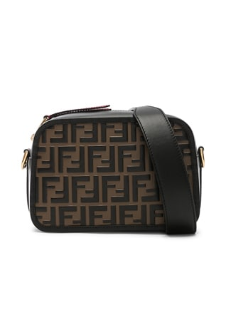Logo Embossed Camera Case