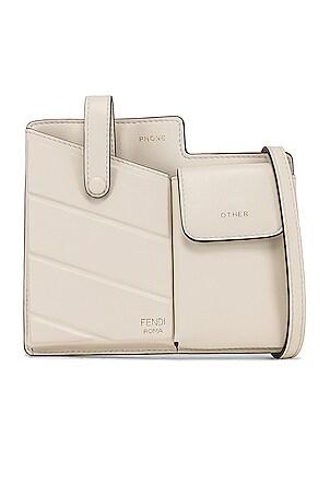 Mini Two Pocket Crossbody Bag