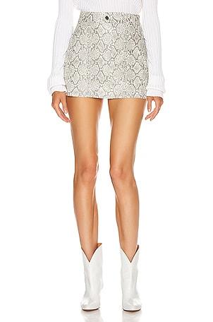 Snake Mini Skirt