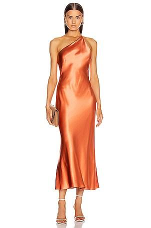 Silk Cropped Roxy Dress