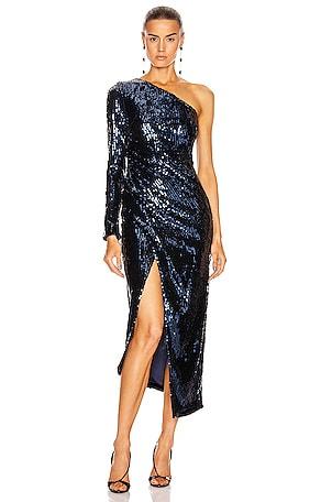Mirrored Mamounia Dress
