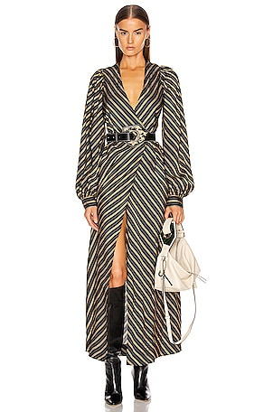 Viscose Stripe Dress