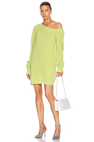Isa Long Off the Shoulder Sweater Dress