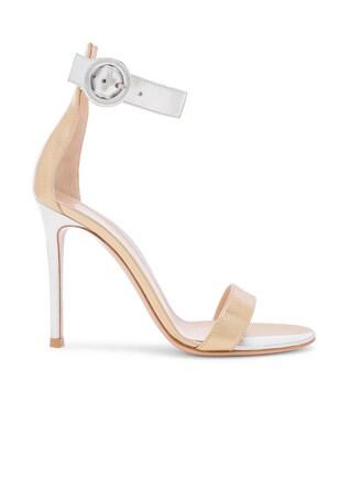 Supreme Camoscio Strap Heels