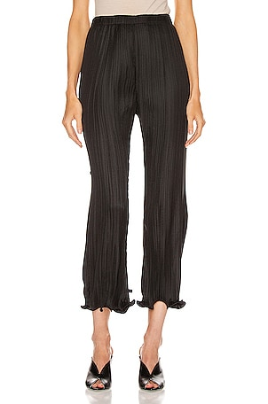 Pleated Wave Details Pant