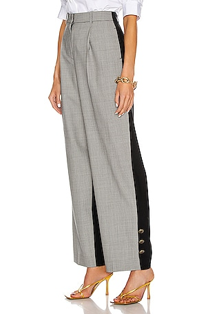 Button Bicolor Large Pant