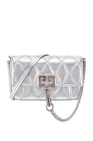 Metallic Mini Pocket Chain Bag