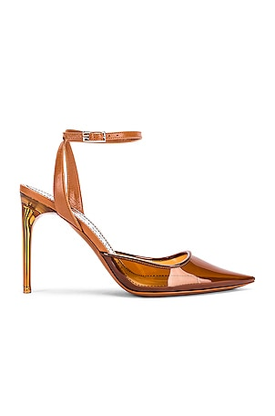 Couture Stiletto Ankle Strap Heels