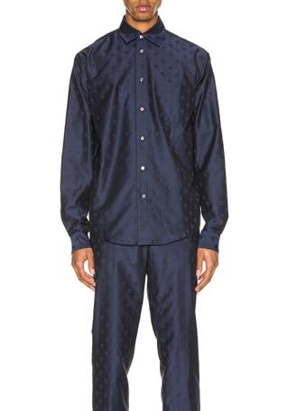 Pointed Collar Shirt