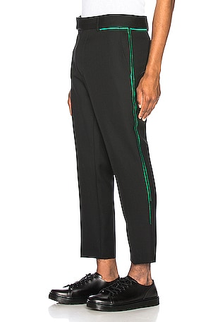 Embroidered Skinny Trouser
