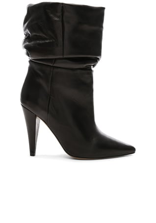 Leather Bergula Ankle Boots
