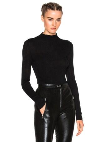 Zasha Thin Ribbed Knit Sweater