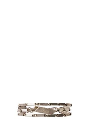 Mondrian Antique Brass Bracelet