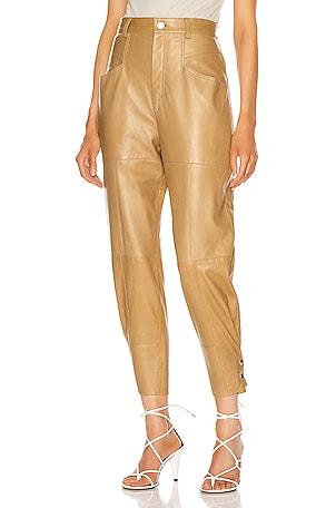 Xiamao Leather Pant