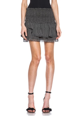 Aura Silk Skirt
