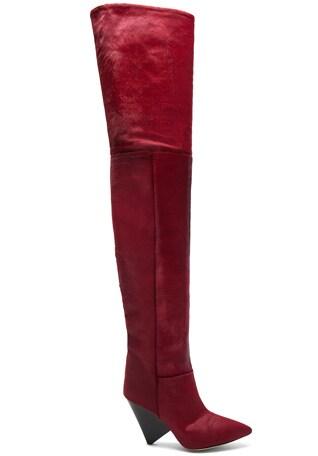Calf Hair Lostynn Thigh High Boots