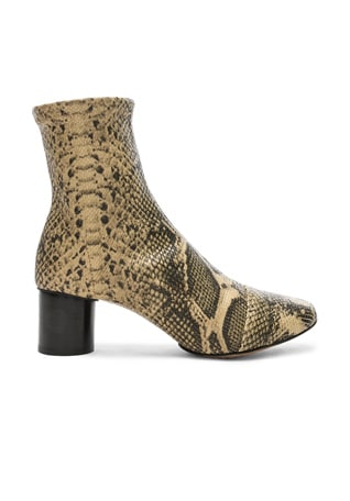 Python Embossed Datsy Boots
