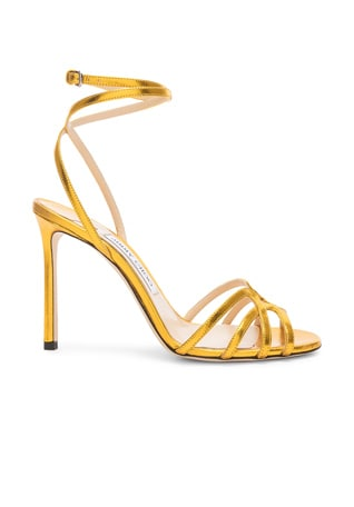 Mimi 100 Metallic Sandal