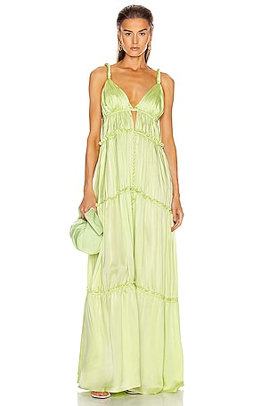 Jade Charmeuse Dress