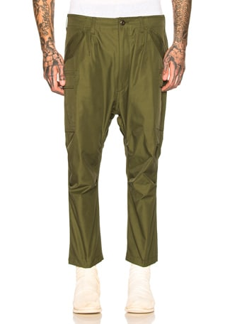 Water Repellent Trousers