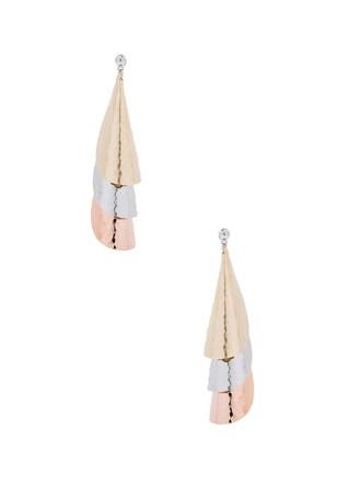 Layered Bell Earrings