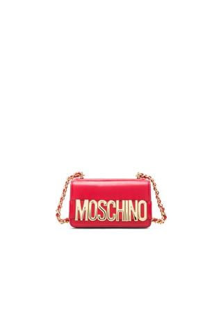 Logo Chain Shoulder Bag