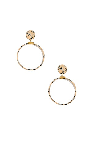 Binocular Hoop Earrings
