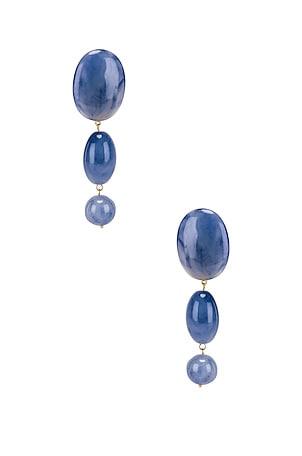 Resin Bubble Drop Earrings