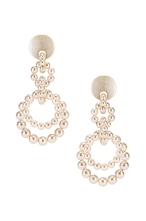 Pearl Loop de Loop Earrings