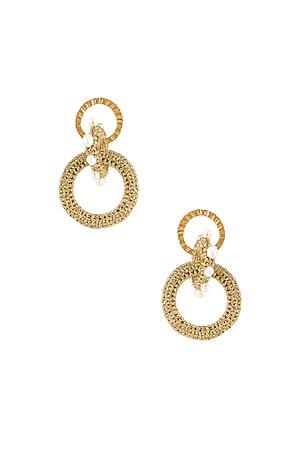 Pharaoh Pearl Earrings