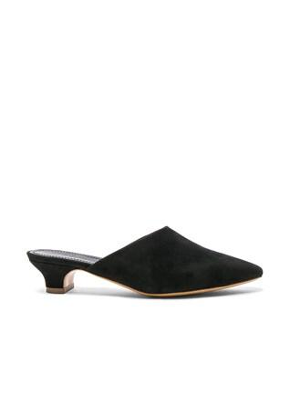 Suede Elegant Slides