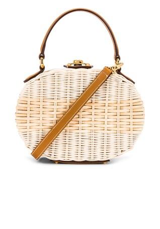 Gianna Oval Box Bag