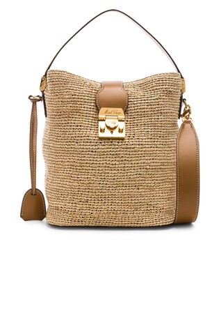 Murphy Raffia Bag