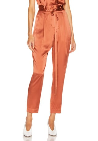 Paperbag Cropped Trouser