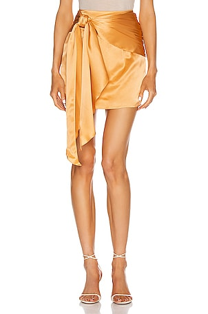 for FWRD Mini Sash Skirt