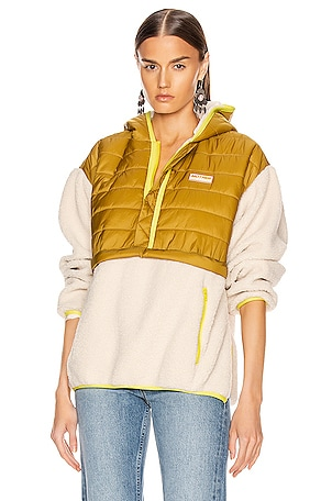 Sher-Puff Zip Pullover