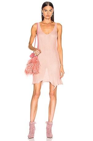 V Neck Knit Dress