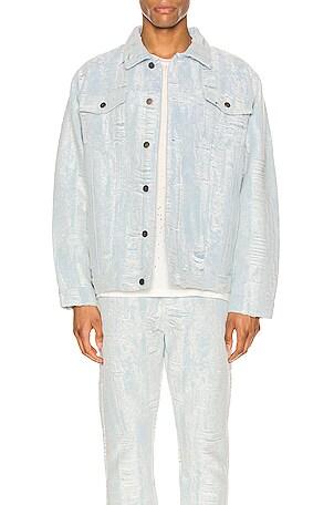 Distressed Storm Denim Jacket