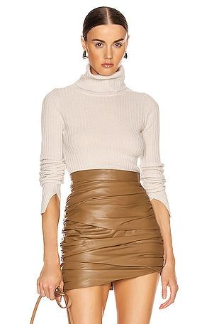 Myla Cashmere Turtleneck Sweater
