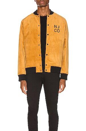 Mark Velvet Bomber Jacket