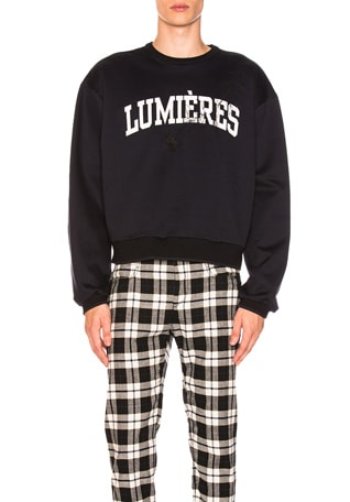 Lumieres Sweatshirt in Navy