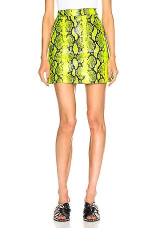 Python Zipped Skirt