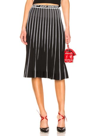 Plisse Knit Skirt