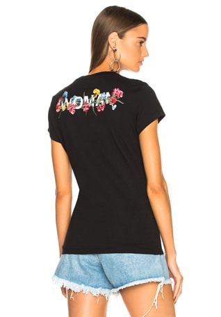 Flowers Fitted Tee