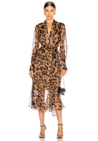 Leopard Day Dress
