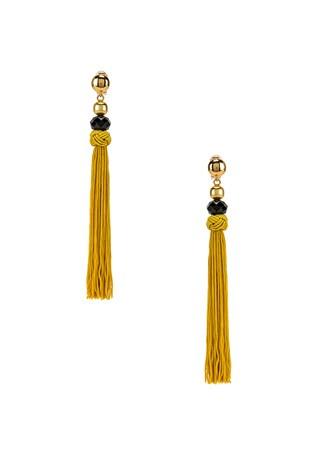 Cord Tassel Earrings