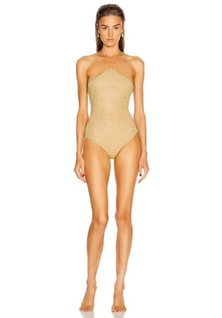 Neckless Maillot Swimsuit