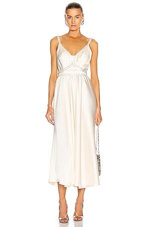 Light Satin Gown